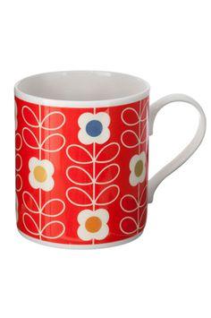 Mug Stern flower Orla Kiely