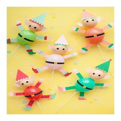 Elf Balloon Sticks diy decoration free printables for children to make this christmas Christmas Crafts For Kids, Christmas Activities, All Things Christmas, Holiday Crafts, Holiday Fun, Christmas Holidays, Christmas Gifts, Elf Christmas Decorations, Kids Crafts