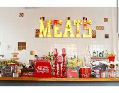 Decoração festa tema Coca-Cola