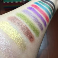 "Sunny - Vegan Beauty Review on Instagram: ""Here's a swatch preview of @johnnyconcert's Amplified Eyeshadows! I'm blown away by the pigmentation, staying power, and all-natural organic ingredients! Will post more pics, names, and individual swatches on the blog later this week! p.s. Johnny Concert just set up a coupon code - VEGANBEAUTY for 10% off your order! Yahoooo! xo  #vegan & #crueltyfree"""