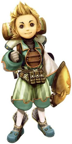 View an image titled 'Clavat Male Art' in our Final Fantasy Crystal Chronicles art gallery featuring official character designs, concept art, and promo pictures. Final Fantasy Characters, Manga Characters, Fantasy Races, High Fantasy, Boy Character, Guy Pictures, Game Art, Concept Art, Art Gallery