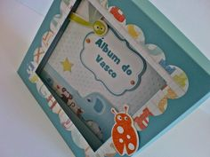 Album do Vasco - Mini Album para bebé (scrapbooking baby boy album)