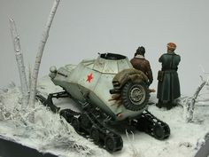 BA-64-3SKH w/Evolution and Tank figs