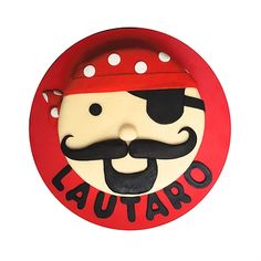 Pirate Face Cake / Torta Pirata Pirate Party, Pirates, Cakes, Kids, Fictional Characters, Hilarious, Sweets, Young Children, Boys