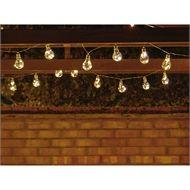10 LED Solar Bulb String Lights