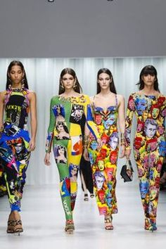 Versace Ready To Wear Spring Summer 2018 Milan Runway Fashion, Fashion News, Fashion Show, Womens Fashion, Alberta Ferretti, Spring Summer 2018, Viera, Live Fashion, Versace