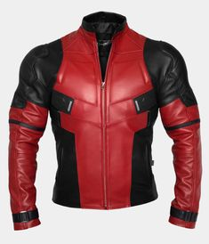 Leather jacket of excellent quality - Lederjacke Best Mens Leather Jackets, Leather Men, Cowhide Leather, Deadpool Jacket, Motorbike Jackets, Biker Jackets, Handmade Leather Shoes, Padded Jacket, Jacket Style