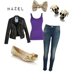 Outfit inspired by Hazel from Rick Riordan's Heroes of Olympus series