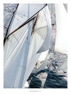 Poster photo Yachting classic - Les Voiles de Saint-Tropez Guillaume Plisson