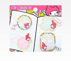 My Melody Sticky Memo Set: Cookies in Characters My Melody at Sanrio