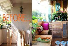 DECO: El antes y después de una terraza