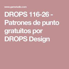DROPS 116-26 - Patrones de punto gratuitos por DROPS Design
