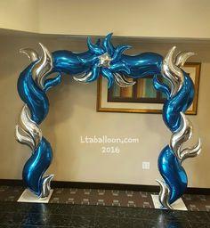Balloon Arrangements, Balloon Centerpieces, Balloon Decorations Party, Star Decorations, Latex Free Balloons, Helium Balloons, Foil Balloons, Ballon Arch, Balloon Columns