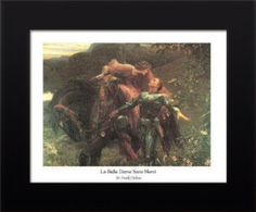 Shop for ''La Belle Dame Sans Merci'' by Frank Dicksee Museum Art Print x 14 in. Get free delivery On EVERYTHING* Overstock - Your Online Art Gallery Store! Frank Dicksee, Framed Art Prints, Poster Prints, Bristol Museum, Salvador Dali Art, Oil Canvas, Online Art Gallery, Art Photography, John Keats