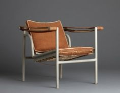 Le Corbusier/Charlotte Perriand/Pierre Jeanneret armchair from Villa Church at Ville d'Avray, France, 1928