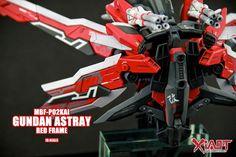 1/100 MBF-P02KAI Gundam Astray Red Frame - Customized Build     Modeled by NEAL5