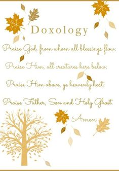 This beautiful doxology is sung by Christians around the world. It is now a free printable for you to print and enjoy.