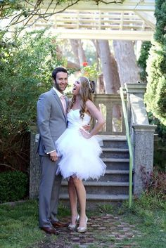 Lory  Short Wedding Dress
