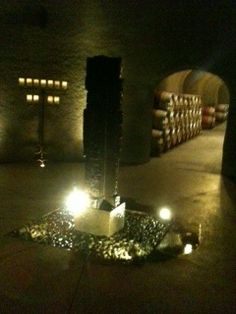 The Wine Cellar at Quintessa...my favorite stop on our trip to Napa.