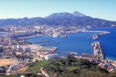 Climbed up high to view the beauty of Ceuta, Morocco, March, 2012--it's one of two Spanish-owned cities in Morocco.