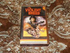 The Violent Breed (VHS, 1985) OOP MGM Fernando Di Leo/Henry Silva! *NOT ON DVD*