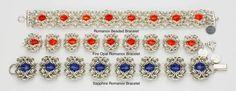 Romanov Beaded Bracelet от AnneGregoryJewelry на Etsy