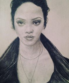 Rihanna by TransilvaniaArt on Etsy