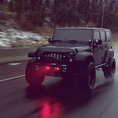 I need a Jeep Wrangler bad! Jeep Wranglers, Jeep Wrangler Rubicon, Black Jeep Wrangler Unlimited, Jeep Wrangler Lights, Jeep Wrangler Off Road, Jeep Jk, Jeep Truck, M Bmw, Mercedes Benz G