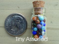 Tiny Assorted Miniature Marbles by J. R. Hooper. Not antiques, but love em anyway, so cuuuute!!!