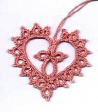 FRIVOLITE HEART (TATTED HEART)