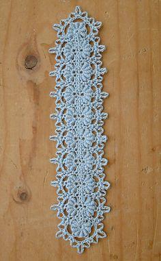 Elegant Bullion Bookmark... Free crochet pattern!!