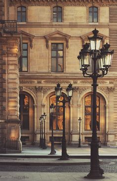 Paris Street Lamps