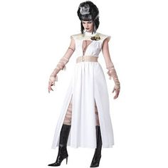 Costume Ideas for Women: Creepy Bride of Frankenstein Costumes for Halloween