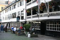 """Located: 77 Borough High Street For fans of: Charles Dickens, Shakespeare The George Inn dates back to the late 16th century, and it stands as the last remaining original coaching inn in London. A placard in the courtyard (which offers ample seating) counts both Shakespeare and Charles Dickens among those who """"knew the hospitality of the inn,"""""""