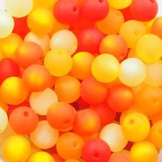 Perlenmix: orange Orange, Balloons, Design, Wristlets, Tutorials, Schmuck, Globes, Balloon