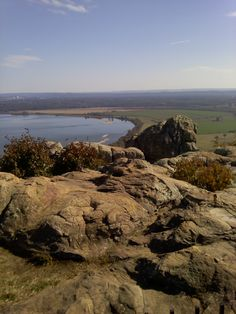 Arkansas River from Petit Jean Mountain
