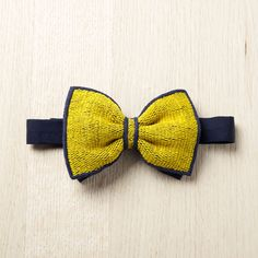 Dress up for a gastronomic meal.  Striking Yellow