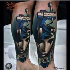 Awesome piece by @ad_pancho #inkedmag #freshlyinked #inkedshop #tattoos #tattoo #art