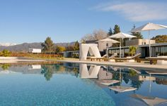 Gorgeous boutique hotel just outside the city limits of Mendoza, Argentina. Fabulous spa, wonderful food and beautiful accommodations