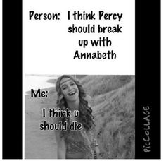 Percabeth forever! Percy and annabeth are the best!! And they r so cute together!!