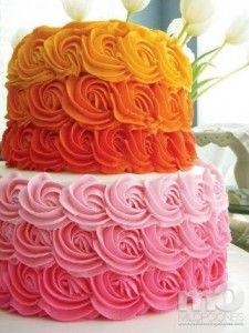15 opciones de hermosas tortas decoradas para bodas 2015 (6)