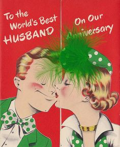 Vintage Wedding Anniversary Cards - The Vintage Inn