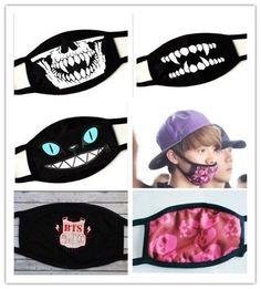 US $4.99 mouth mask  EXO-Luhan-bigbang-SJ-Mouth-Mask-EXO-M-BTS-Anti-dust-Flu-Face-Mask-Surgical-mask
