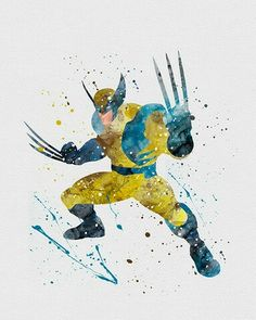 Watercolor - X-Man