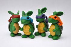 Teenage Mutant Ninja Turtle-Rabbit. $20.00, via Etsy.