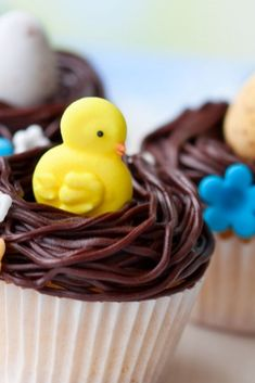 Try making these delicious Easter egg fairy cakes - a great treat for all the family...