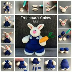 Rabbit Tutorial - For all your cake decorating supplies, please visit craftcompany.co.uk
