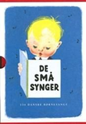 De små synger. Collection of Danish songs for children. I loved my book so dearly as a child and I always brought it with me whereever I went.