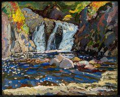 J. E. H. MacDonald | The Little Falls, 1918
