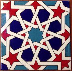 Iznik Art Ceramic Wall Tiles